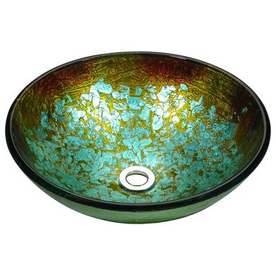 Stellar Series Circular Vessel Bathroom Sink