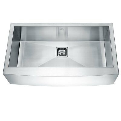 Elysian Series 35.88 x 20.75 Single Farmhouse Kitchen Sink