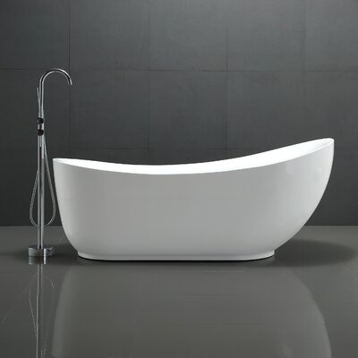 Talyah Series 71 x 30 Freestanding Soaking Bathtub
