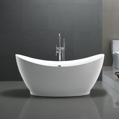 Reginald Series 68 x 31 Freestanding Soaking Bathtub