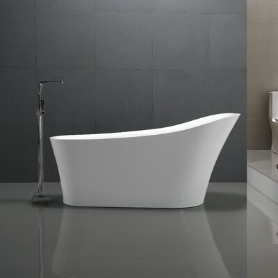 Maple Series 67 x 31 Freestanding Soaking Bathtub