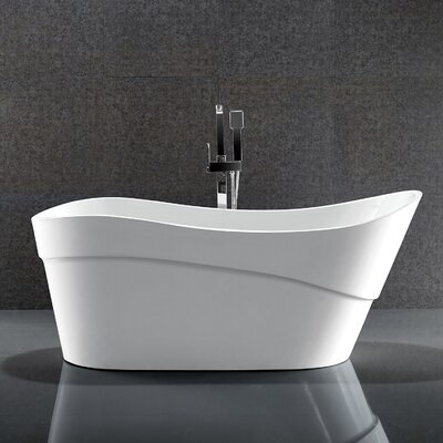 Kahl Series 67 x 28 Freestanding Soaking Bathtub