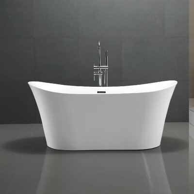 Eft Series 67 x 29.5 Freestanding Soaking Bathtub