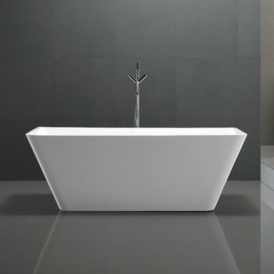 Zenith Series 67 x 31.5 Freestanding Soaking Bathtub