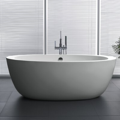 Yield Series 67 x 35.5 Freestanding Soaking Bathtub