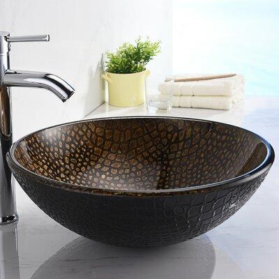 Nile Series Circular Vessel Bathroom Sink