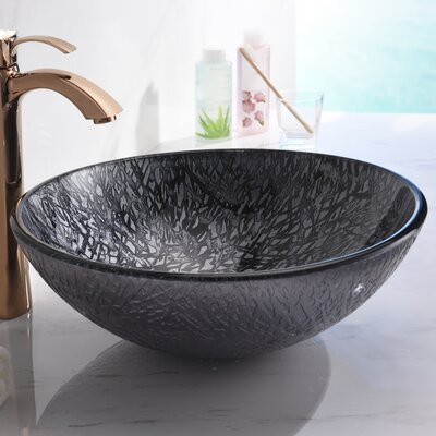 Arc Series Circular Vessel Bathroom Sink