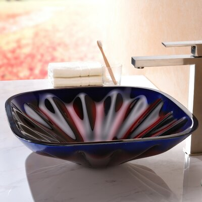 Depth Series Square Vessel Bathroom Sink