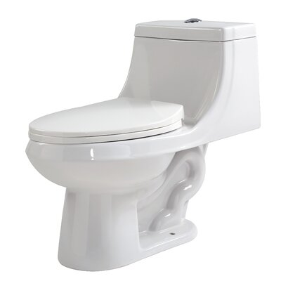 Odin Dual Flush Elongated One-Piece Toilet