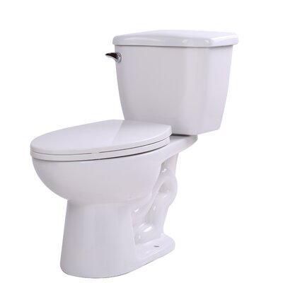 Kame 1.28 GPF Elongated Two-Piece Toilet