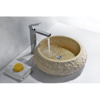 Desert Circular Vessel Bathroom Sink
