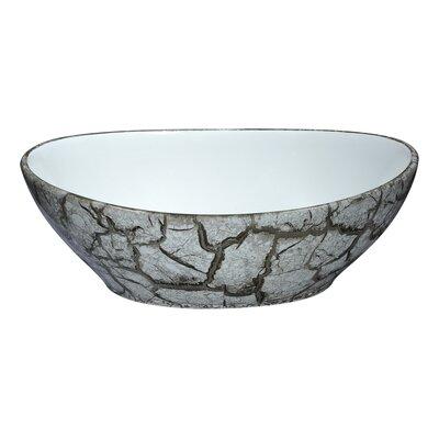 Sona Series Ceramic Oval Vessel Bathroom Sink