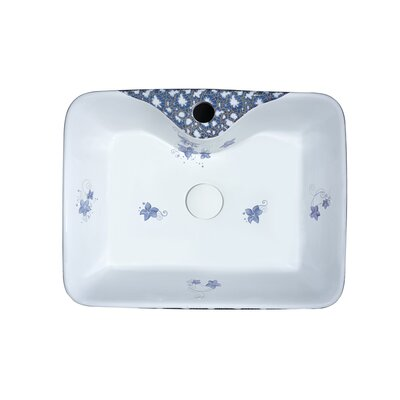 Cotta Vitreous China Square Vessel Bathroom Sink