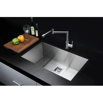 Vanguard Series 30 x 18 Undermount Kitchen Sink