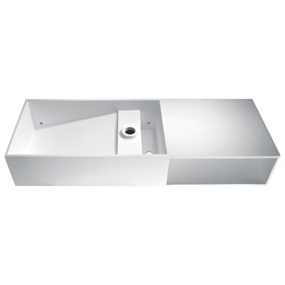Harmsia Rectangular Vessel Bathroom Sink