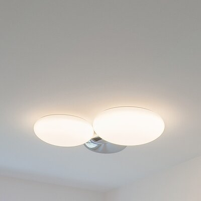 Foam 1-Light Flush Mount