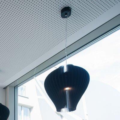 Lamella Fargola 1-Light Mini Pendant Shade Color: Black