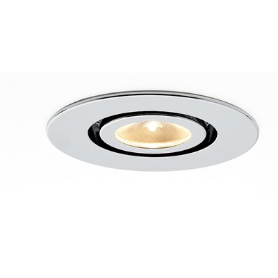 Kado Adjustable 2 LED Recessed Lighting Kit Finish: Matte Chrome
