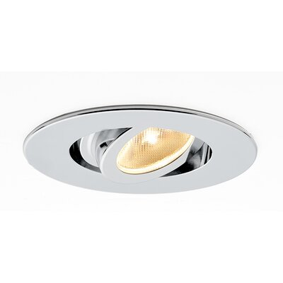 Kado Adjustable 2 LED Recessed Lighting Kit Finish: Matte Chrome