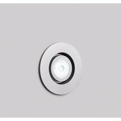 Kado Adjustable 2 LED Recessed Lighting Kit Finish: Chrome