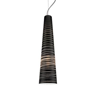 Nina XL 1-Light Mini Pendant Shade Color: Silver