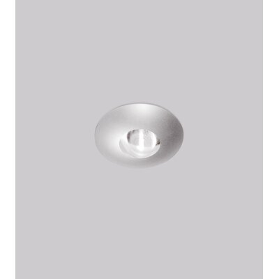 Vitrum 2 Recessed Trim Finish: Matte Chrome