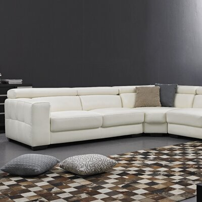 Leather Corner Sectional