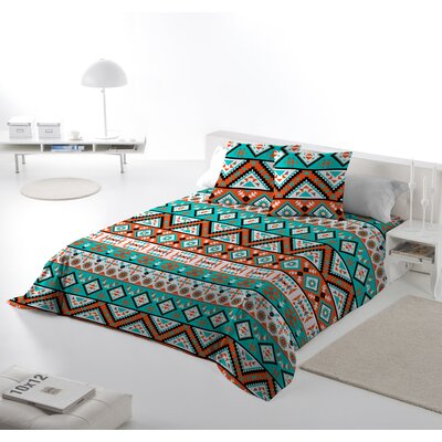 Africa 3 Piece Duvet Cover Set Size: Queen