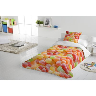 Candy Land Duvet Cover Set Size: Twin