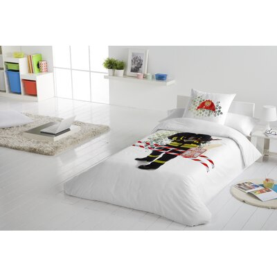 Fireman 2 Piece Twin Duvet Cover Set