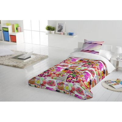 Sweets 2 Piece Twin Duvet Cover Set