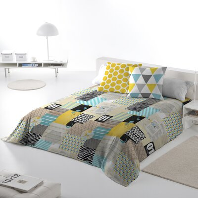 IPatchwork 3 Piece Queen Duvet Cover Set