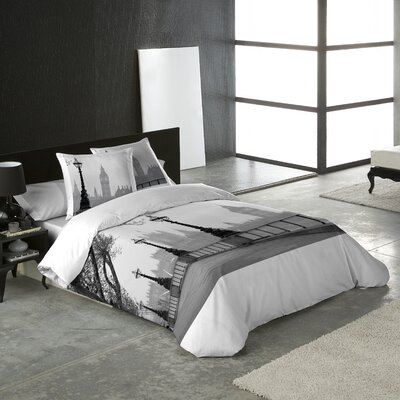 Big Ben 3 Piece Queen Duvet Cover Set