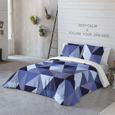 Origami Duvet Cover Set Size: King