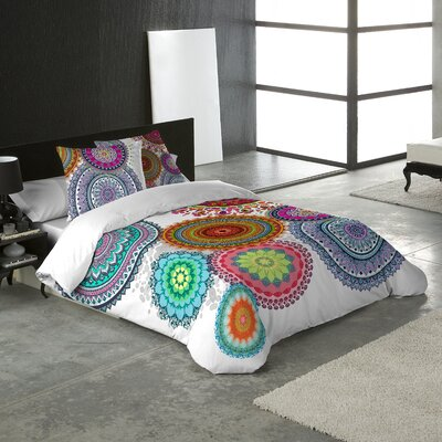Freya 3 Piece Duvet Cover Set Size: King