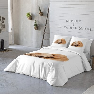 So Cute Duvet Cover Set Size: Queen