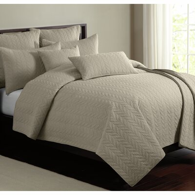 Caiden 100% Cotton Quilt Set Size: Queen