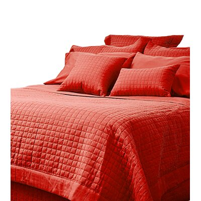 Bloomingdale 3 Piece Duvet Set Size: Full, Color: Red