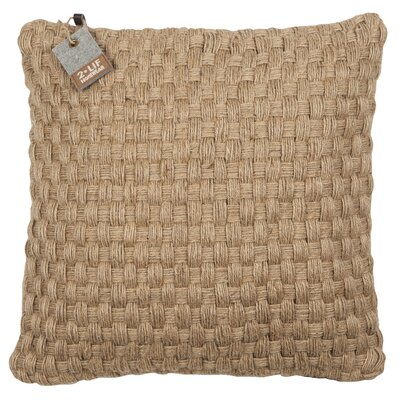 Macced Cotton Throw Pillow