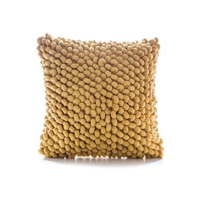 Sasaki Throw Pillow Color: Mustard