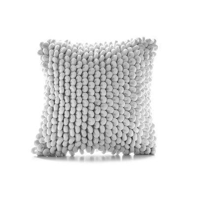 Sasaki Throw Pillow Color: White