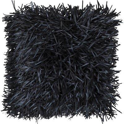 Gardea Throw Pillow Color: Black