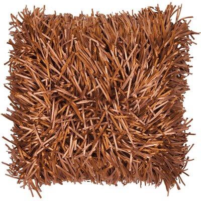 Gardea Throw Pillow Color: Copper