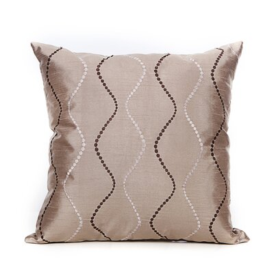 Bidwell Throw Pillow Color: Bronze