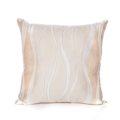 Alperton Throw Pillow Color: Beige
