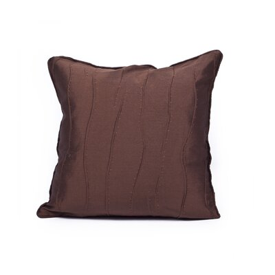 Maglione Throw Pillow Color: Chocolate