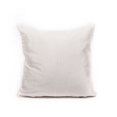 Maglione Throw Pillow Color: Natural