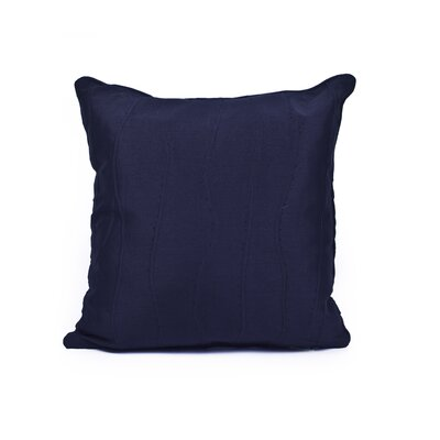 Maglione Throw Pillow Color: Navy