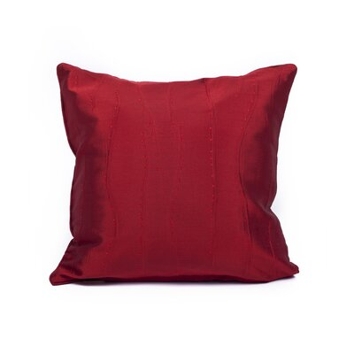 Maglione Throw Pillow Color: Red