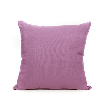 Reddy Throw Pillow Color: Aubergine